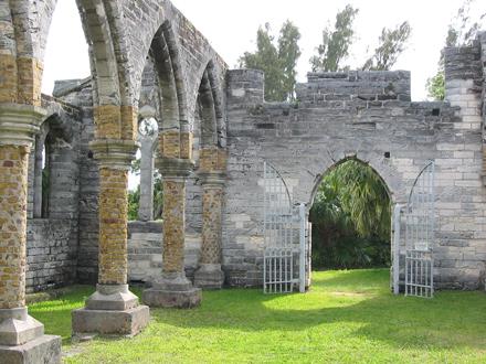 Bermudy, Zřícenina klášteru