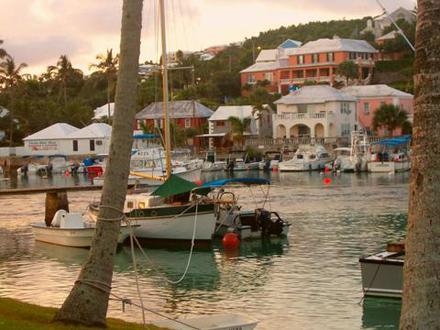 Bermudy, Přístavní vesnice