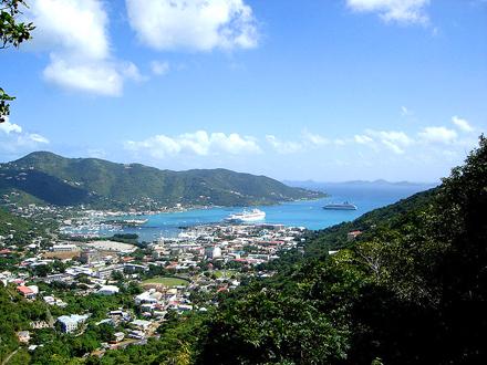 Britské Panenské Ostrovy, Tortola, Road Town