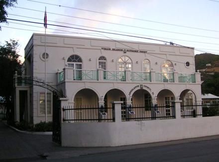 Britské Panenské Ostrovy, Tortola, Road Town, Soudní dům