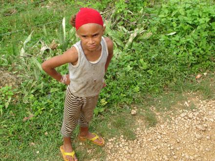 Dominikánská republika, Dominikánské dítě