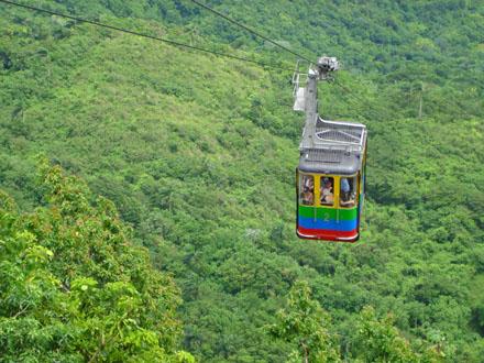 Dominikánská republika, Kabinková lanovka