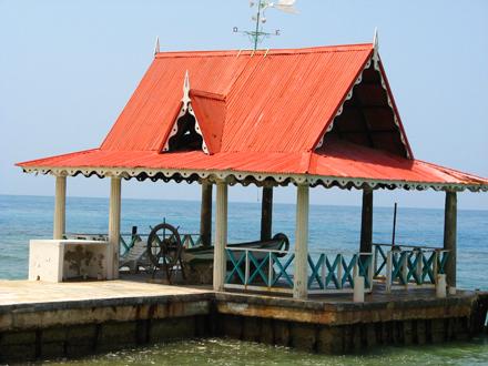 Haiti, Přístaviště Moulin Sur Mer Resort