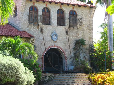 Haiti, Port-au-prince, Starý mlýn přeměněný na muzeum