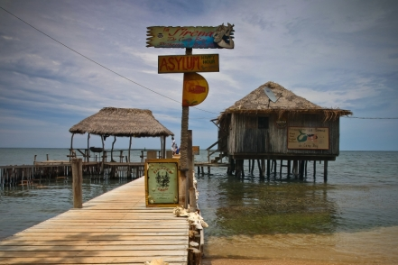 La Sirena - vyhlášená hospůdka úplně na východě ostrova