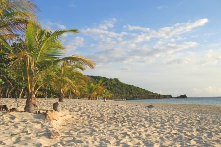 Camp bay - liduprázdná přírodní pláž dlouhá několik kilometrů