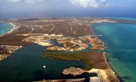 Kajmanské Ostrovy, pohled z perspektivy