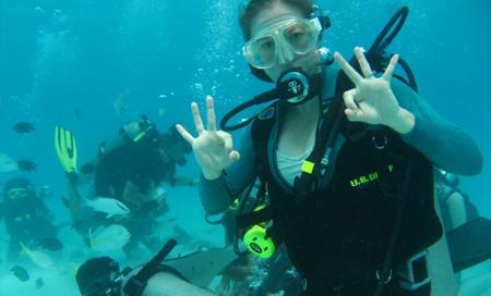 Kajmanské Ostrovy, potápění se v moři