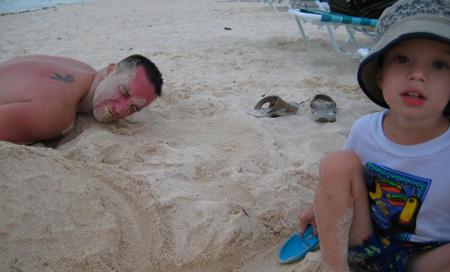 Kajmanské Ostrovy, pláž