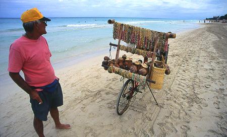 Kuba, pláž Varadero