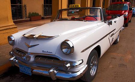 Kuba, kubánské taxi
