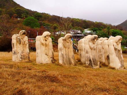 Martinik, Anse Cafard, Památník otroků