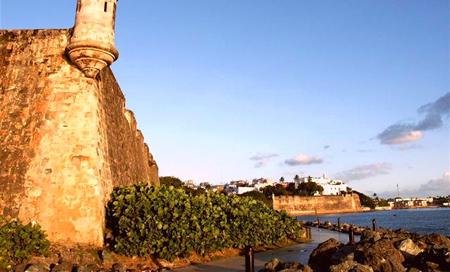 Portoriko, hrad Morro Castle