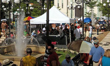 Portoriko, městečko Barranquitas