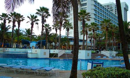 Portoriko, hlavní město San Juan, hotel